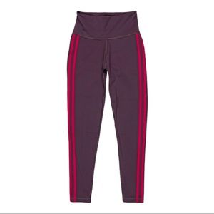 Adidas Women's Purple Active High Rise Leggings